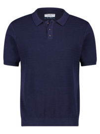 Polo Knitted Navy 22.03.319