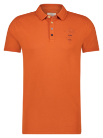 Polo Garment Dye Burnt Orange 22.03.308