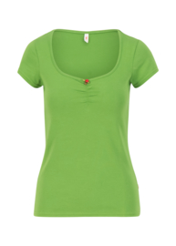 Logo Shortsleeve Feminin Clarify Green 001211-115-006