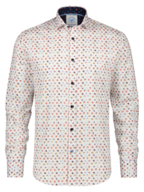 Shirt Flower Power White 22.01.004