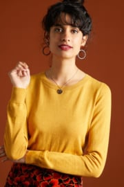 Agnes Top Cocoon Honey Yellow