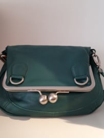 Cannes Bag Buff Washed Pine Green