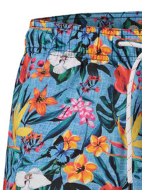 Swimshort Floral Light Blue 22.03.260