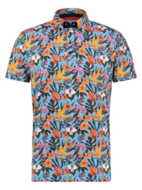 Polo Light Blue Floral Jersey 22.03.335