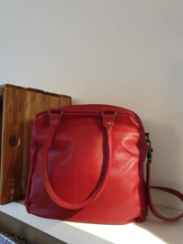 Austin Bag Buff Washed Red