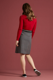 Agnes Top Cocoon Icon Red