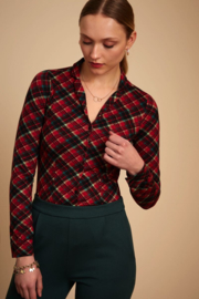 Patty Blouse Chatham Icon Red 06599