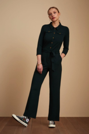 King Louie Olive Jumpsuit Uni Rodeo Sycamore Green 05461