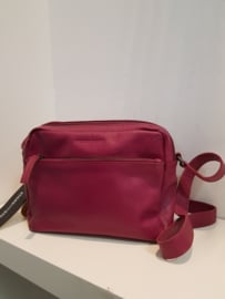 Pasadena Bag Buff Washed Mulberry Red