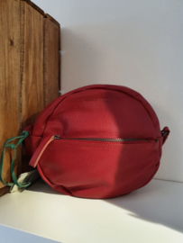 Juno Bag Buff Washed Red