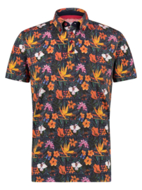 Polo Navy Floral Jersey 22.03.336