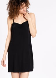 Logo Under Dress Underdress Black
