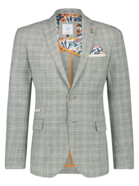 Blazer Washed Linen Green 22.02.114