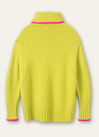 Keen Pullover Lime Punch Green