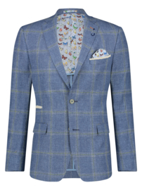 Blazer Big Blue Green Check 22.02.104
