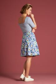 Gemma Top Tweedy Stripe Dutch Blue 06250