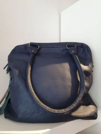 Austin Bag Buff Washed Dark Blue