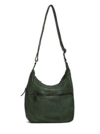 Gaia Bag Cow Vegetable Tan Dark Olive 20896