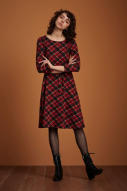 Betty Dress Chatham Icon Red 06598
