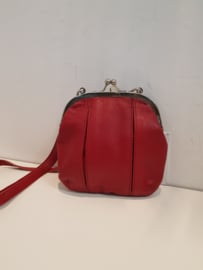Ravenna Bag Buff Washed Red