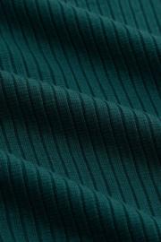 Lily Top Uni Rib Tencel Antique Green 06449