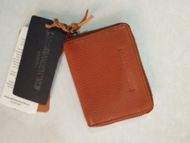 Hudson Wallet Cow Vegetable Tan Cognac