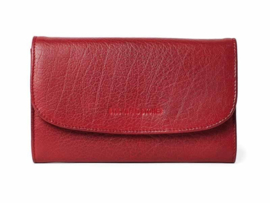 Aspen Wallet Buff Washed Cherry Red 21427
