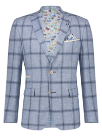 Blazer Big Light Blue Check 22.02.103
