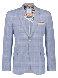 Blazer Washed Linen Light Blue 22.01.112
