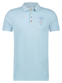 Polo Garment Dye Light Blue 22.03.307
