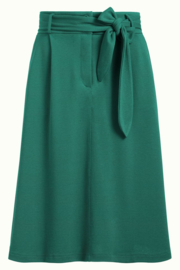 Ava Skirt Milano Crepe Fir Green