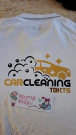 """Shirt bedrukken """"Car Cleaning gold"""""""
