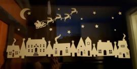 """Raamsticker """"kerst"""""""