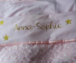 """dekentje """"Anna- Sophie"""""""