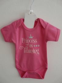 Romper Princess fuchsia roze