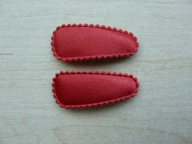 "Haarknipjes ""rood"" 3cm"