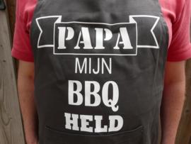 Schort voor de barbecue