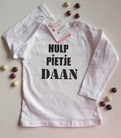 "Shirt ""hulp Pietje"""