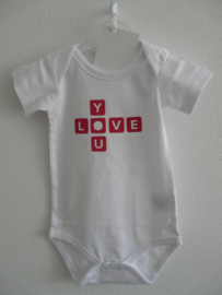 "Romper ""Love You"""