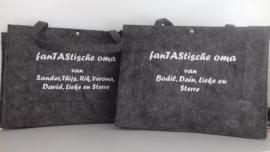tassen in opdracht gemaakt