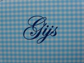 """Koffertje met naam """"Gijs"""""""