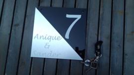 Naambordje Anique & Sander