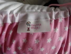 Babynestje roze ster