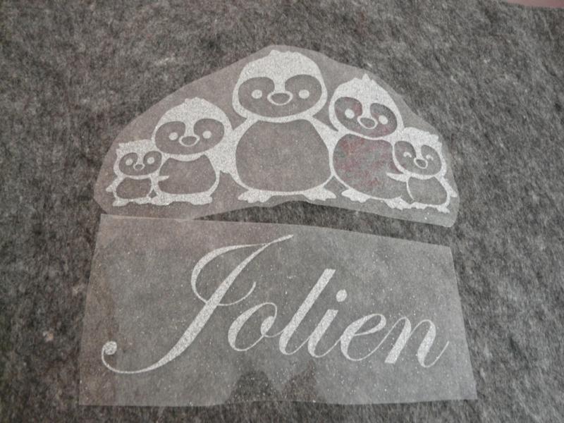 "Sticker ""Pinguin Jolien"""