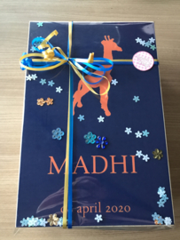 Memorybox voor Madhi