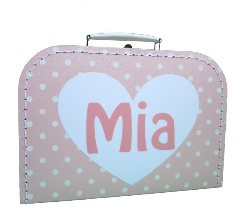 Koffertje voor Mia