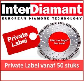 Private Label Actie / Diamantzaagblad naar keuze - per 50 stuks