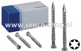 Vlonderschroef HBV 4,0 x 40 RVS Lenskop Torx doos a 500 stuks