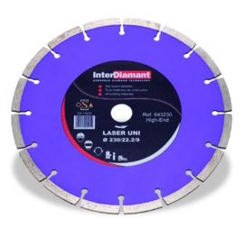 Diamantzaagblad Laser Uni Universeel Ø115mm
