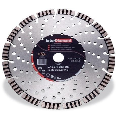 Diamantzaagblad Laser Beton High End Ø350mm